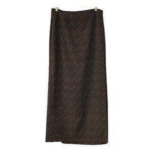 Geoffrey Beene Sport Maxi wrap Skirt Size  10